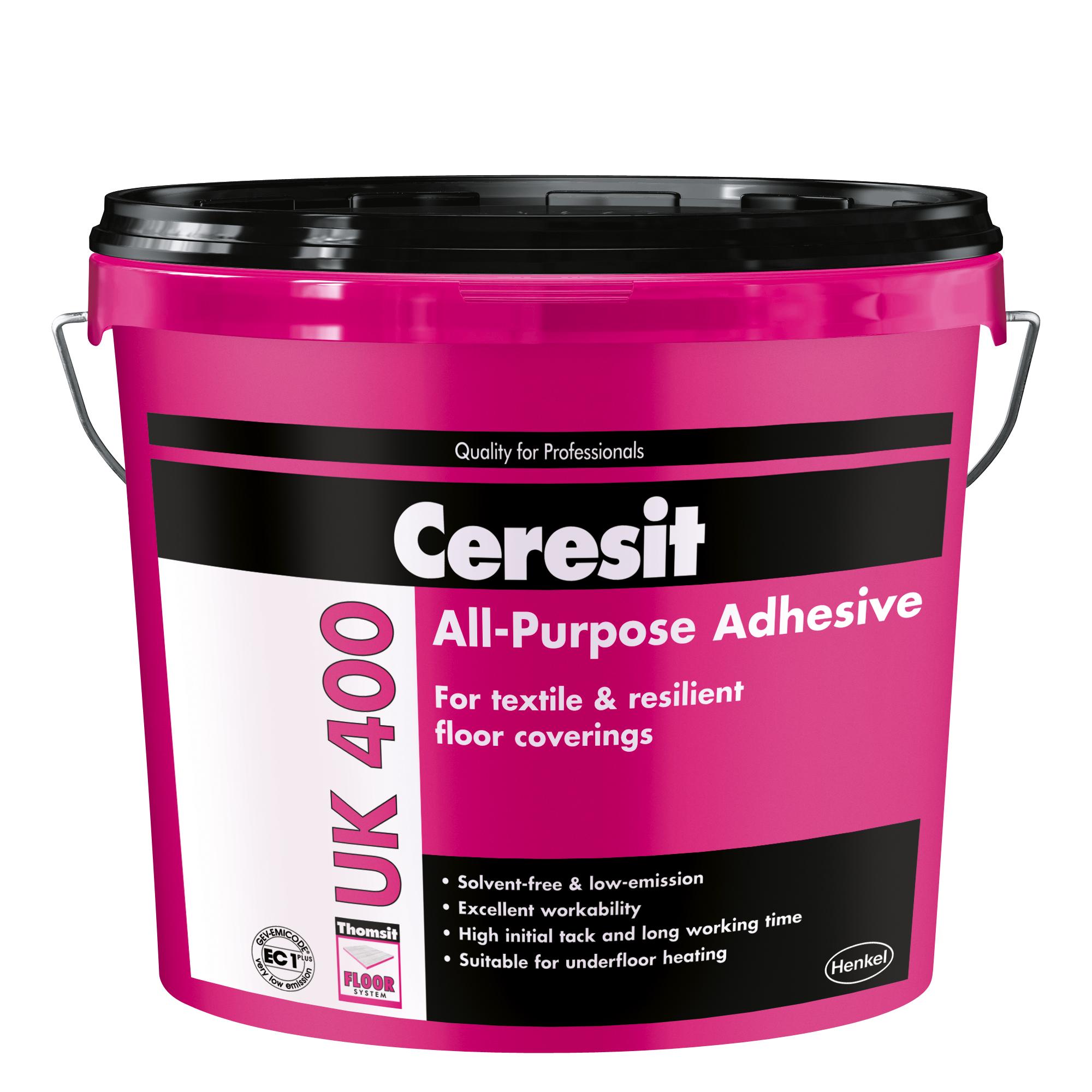 Univerzalna lepila za PVC, CV, tekstilne in talne obloge iz linoleja - Ceresit UK 400
