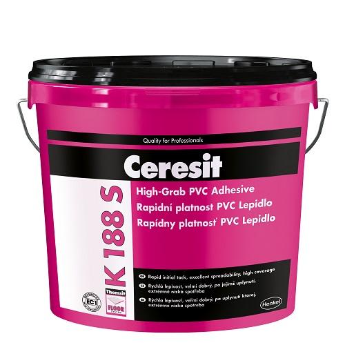 Univerzalna lepila za PVC, CV, tekstilne in talne obloge iz linoleja - Ceresit K 188 S STANDARD
