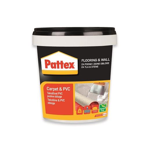 Lepilo za tekstilne in PVC obloge - Pattex Carpet&PVC Glue